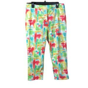 RAFAEL CROP PANTS MULTICOLORED WITH CUFF